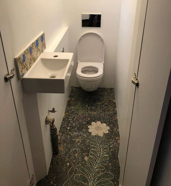 Becoming a powder room
