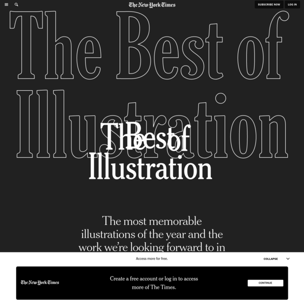 Opinion | The Best of Illustration
