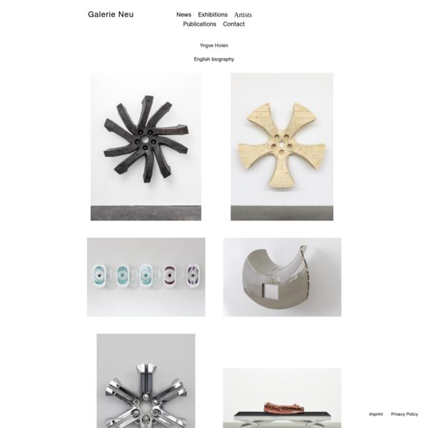 Yngve Holen | Galerie Neu