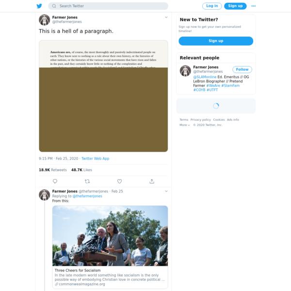 Farmer Jones on Twitter