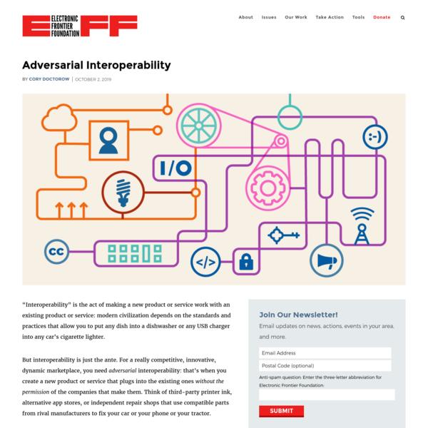 Adversarial Interoperability