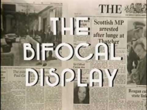 Bifocal Display Concept Video from 1982