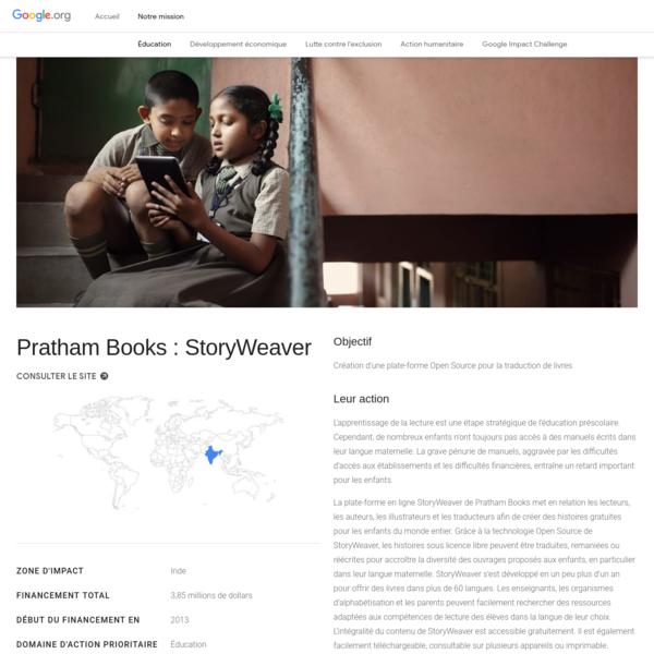 Pratham Books : StoryWeaver - Google.org