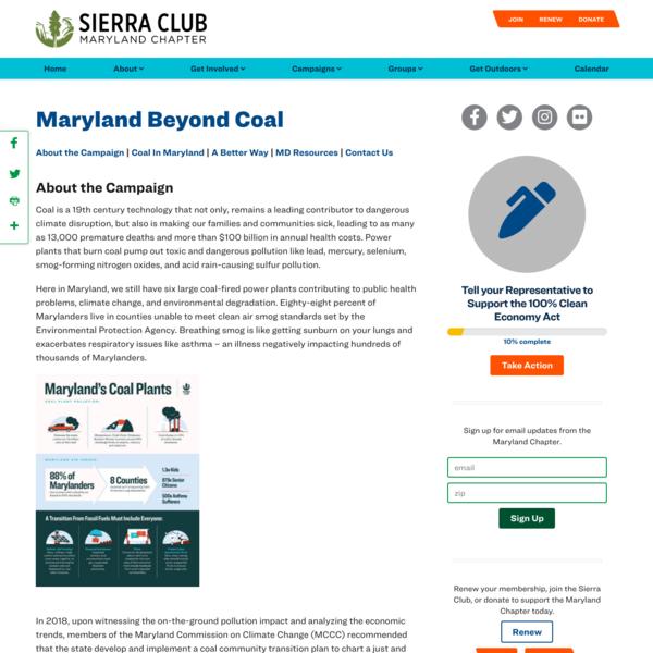 Maryland Beyond Coal