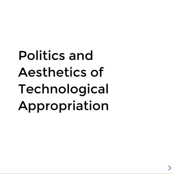 Politics and Aesthetics of