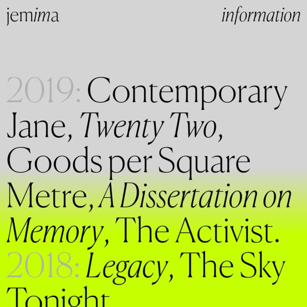 Jemima - Graphic Designer