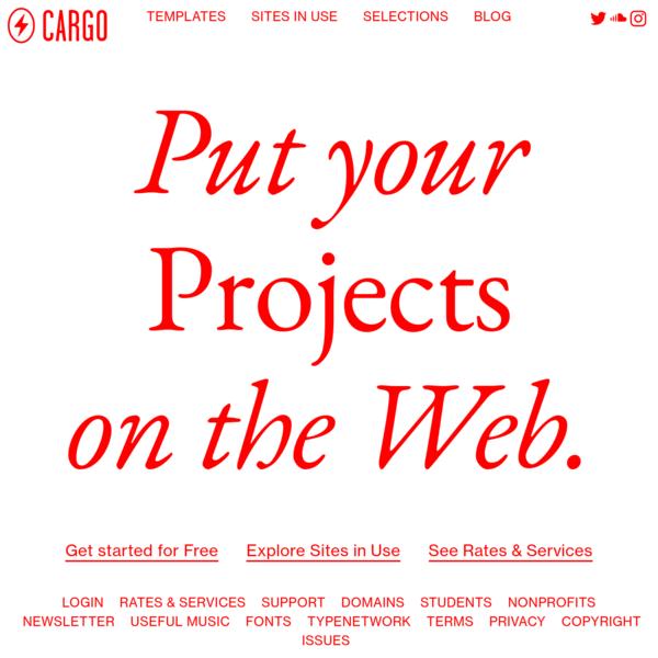 cargo.site