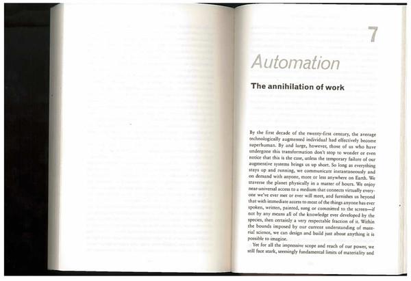 "Adam Greenfield, Radical Technologies, ""Automation"", 2018"