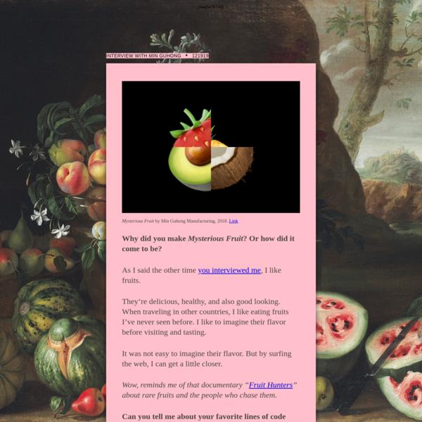 fruitful blog