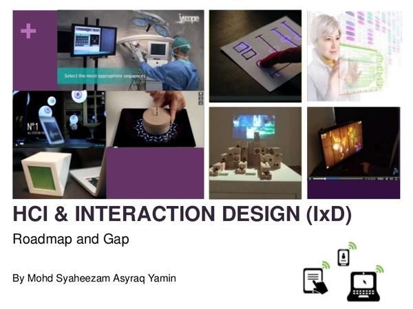 Interaction Design Roadmap