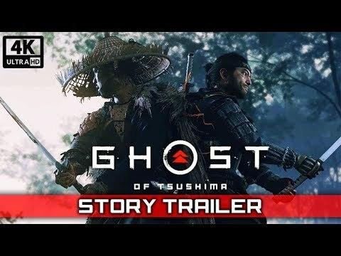 Ghost of Tsushima Story Trailer (2020) 4K UHD PS4 PRO
