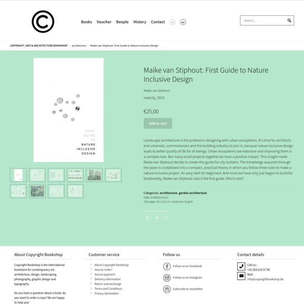 Maike van Stiphout: First Guide to Nature Inclusive Design