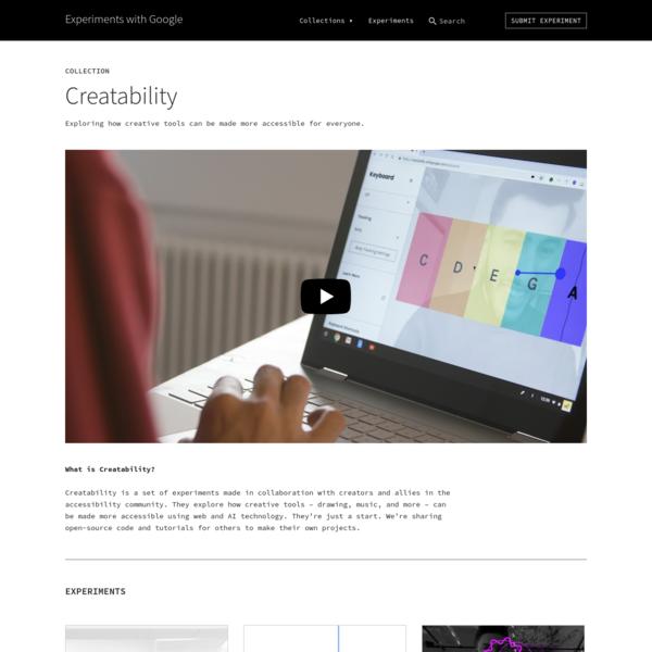 Creatability | Experiments with Google