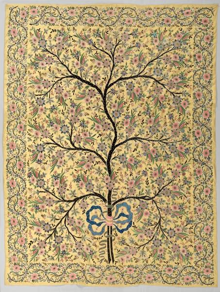 ottoman turkish silk hanging 1800s