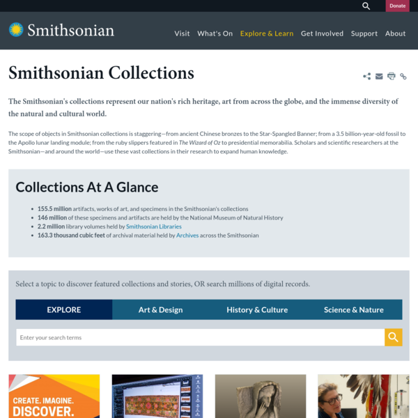 Smithsonian Collections