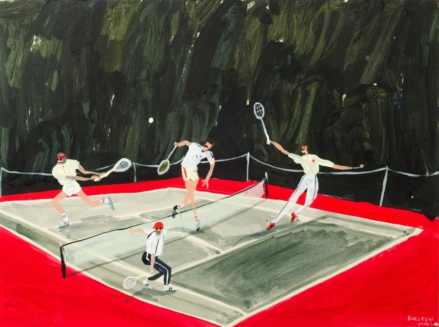 Kirsten-Sims-Love-Game-2016.-Mixed-Media-on-board.-370-x-470-mm.jpg