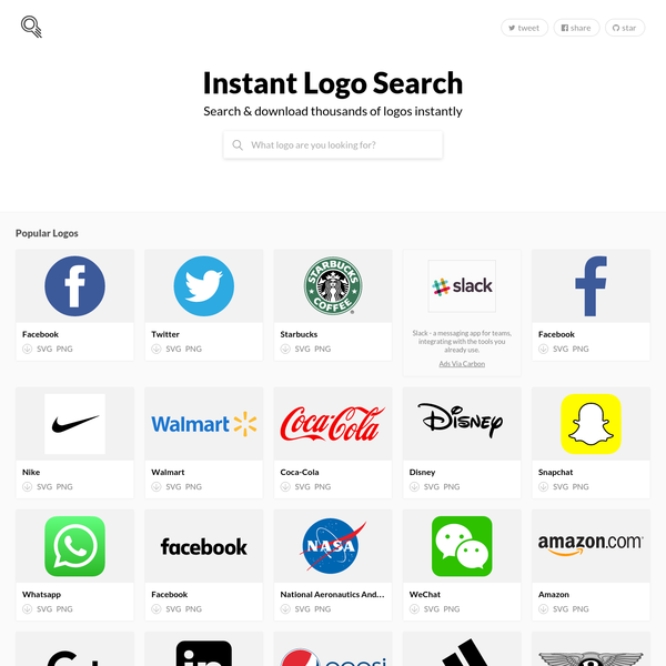 Instant Logo Search