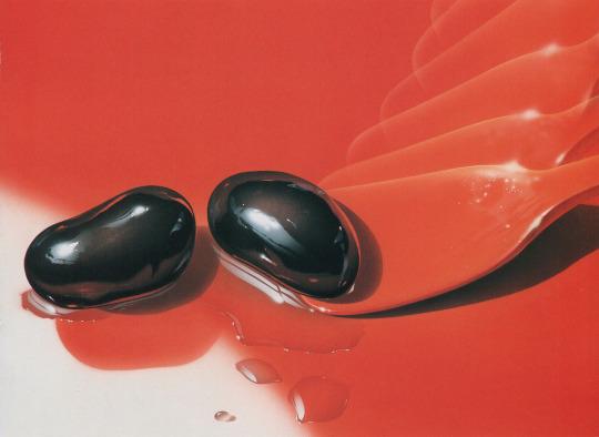 """Masao Saito, """"Black Bean,"""" Food Illustrations (1988)"""