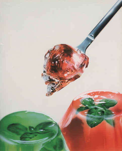 "Masao Saito, ""Mint Jelly,"" Food Illustrations (1988)"
