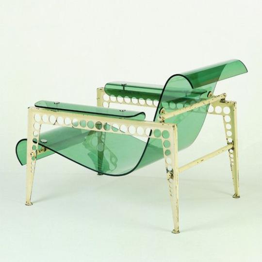 Jean Prouve, garden chair (1937)