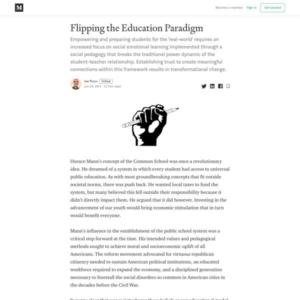 Flipping the Education Paradigm