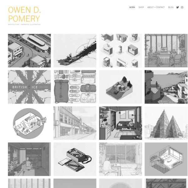 Owen Pomery - Work