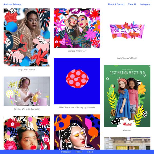 Andreea Robescu - Portfolio of multidisciplinary artist Andreea Robescu