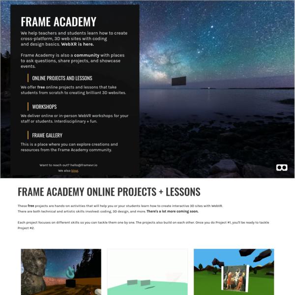 Frame Academy Home