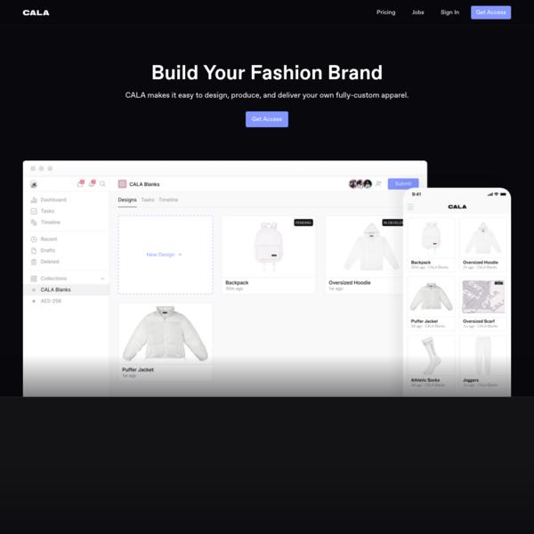 CALA * Build Your Fashion Brand
