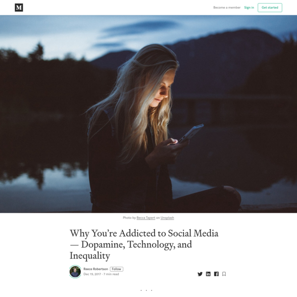 Why You're Addicted to Social Media - Dopamine, Technology, and Inequality
