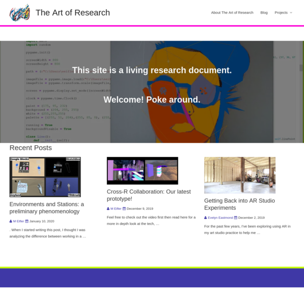 The Art of Research