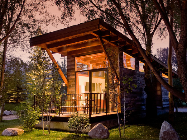 Trend towards wabi sabi: Tiny Homes