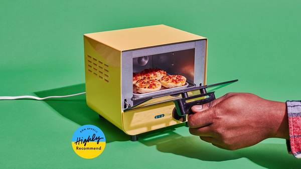 I Never Knew I Needed an Office Toaster Oven Until This One Came Into My Life