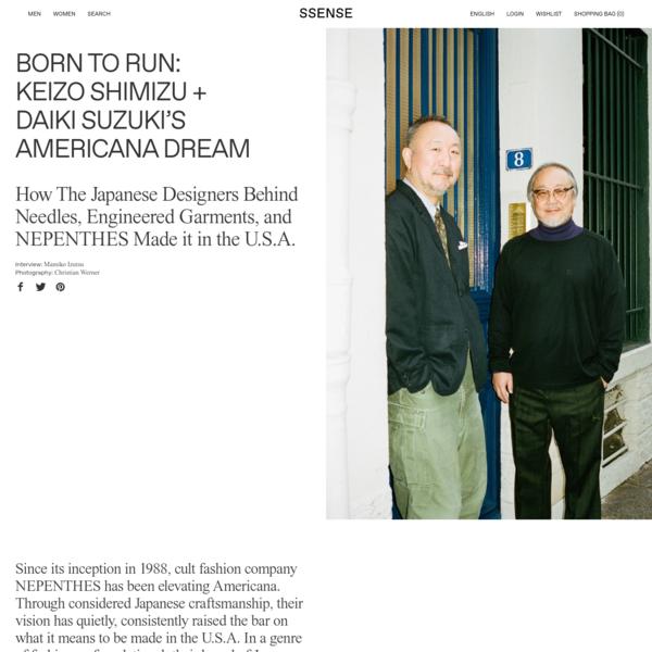 Born to Run: Keizo Shimizu + Daiki Suzuki's Americana Dream