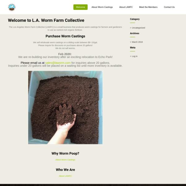 Los Angeles Worm Farm Collective
