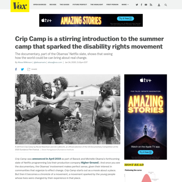 Crip Camp is a stirring introduction to the summer camp that sparked the disability rights movement
