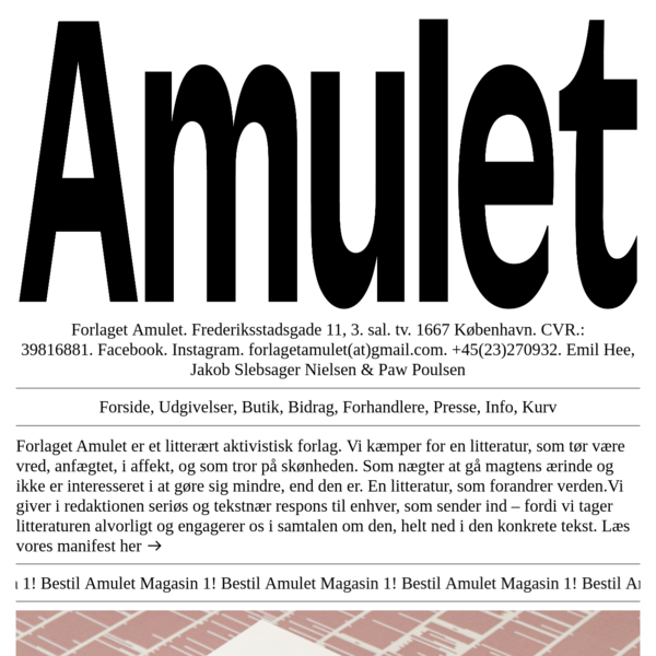Forlaget Amulet