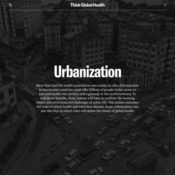 Urbanization | Think Global Health