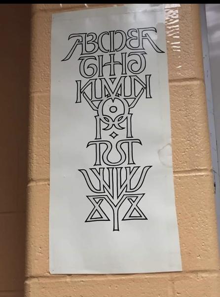 Alphabet by scott kim