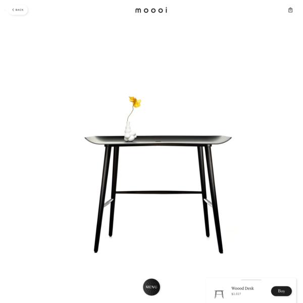 Woood Desk - Moooi