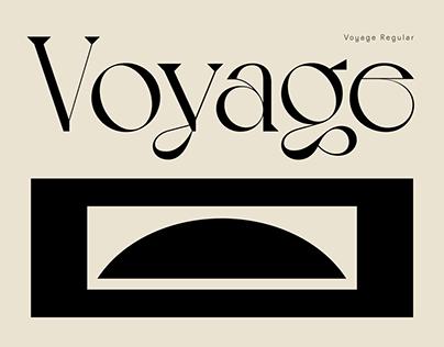 Voyage typeface