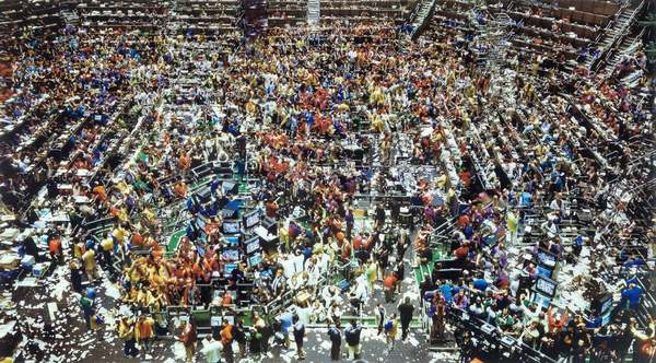 Chicago Board of Trade II, Andreas Gursky 1999, Photography