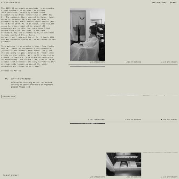 Public Source || Covid-19 Archive