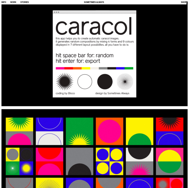 Caracol - Sometimes Always