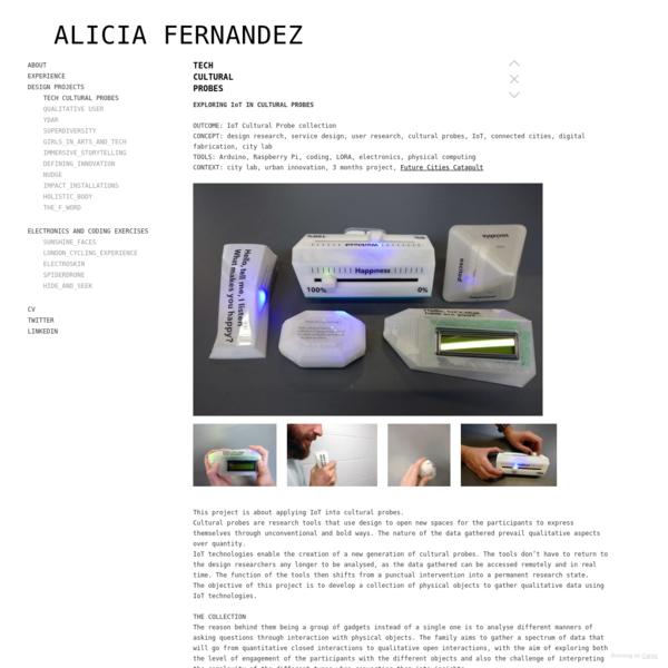 TECH CULTURAL PROBES - ALICIA FERNANDEZ