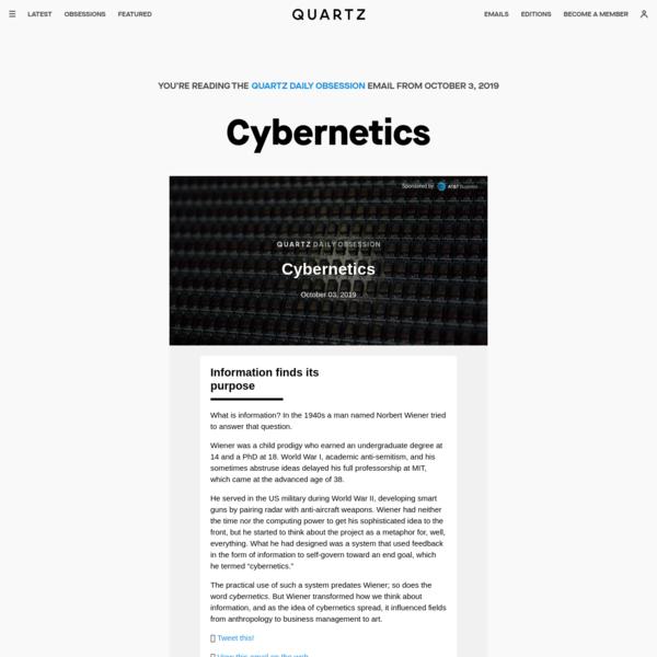 Cybernetics - Quartz Daily Obsession