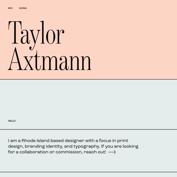Taylor Axtmann