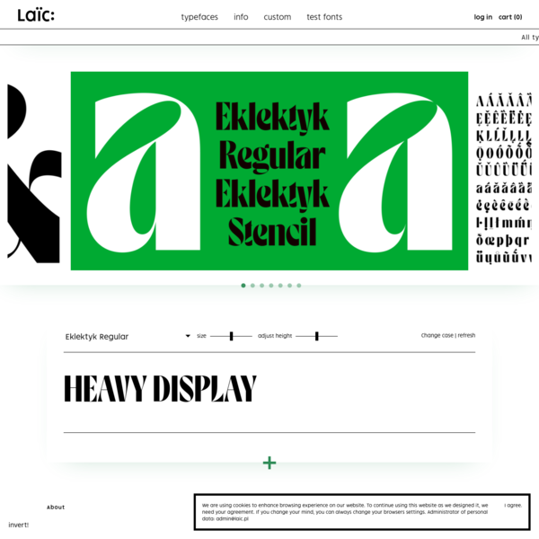 Laïc: Type Foundry
