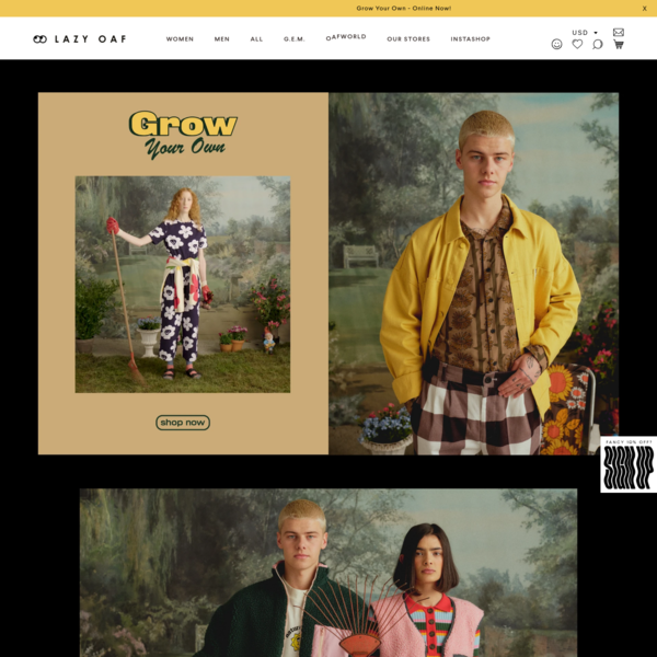 Men's and Women's Independent Streetwear I Lazy Oaf