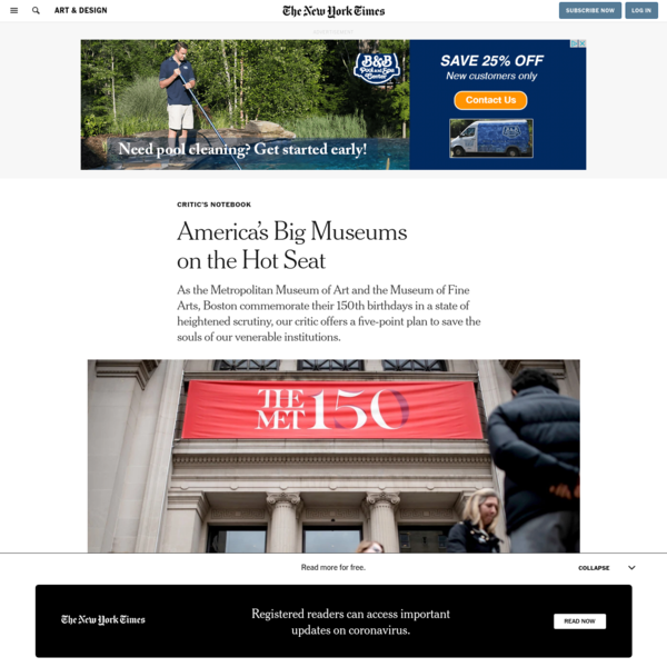 America's Big Museums on the Hot Seat